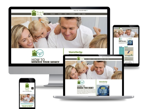 Family Life Banking (Web Design)
