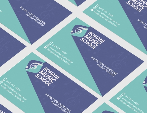 Rohani Music School Business Card And Branding